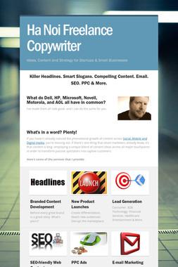 Ha Noi Freelance Copywriter