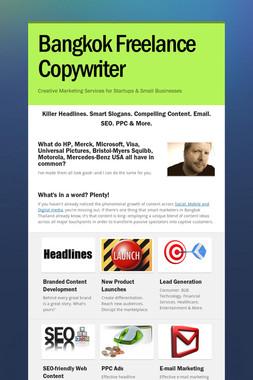 Bangkok Freelance Copywriter