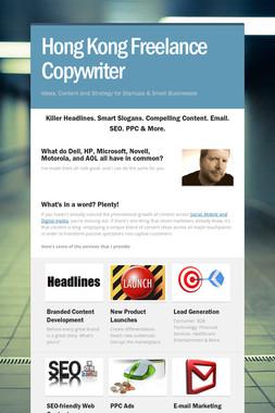Hong Kong Freelance Copywriter