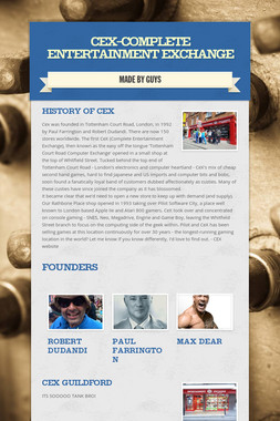 CEX-Complete Entertainment Exchange
