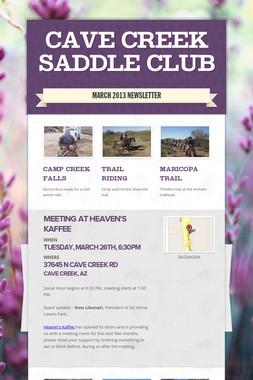 Cave Creek Saddle Club