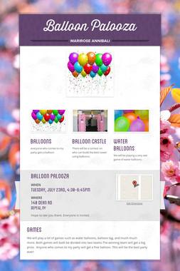 Balloon Palooza