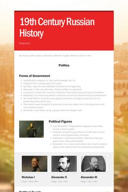 19th Century Russian History