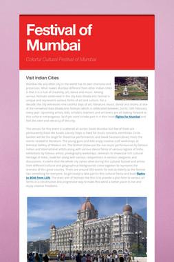 Festival of Mumbai