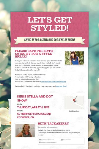 Let's Get Styled!