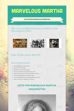 Marvelous Martha