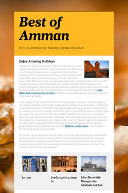 Best of Amman