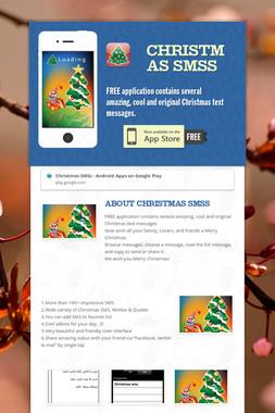 Christmas SMSs