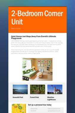 2-Bedroom Corner Unit