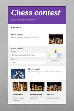 Chess contest
