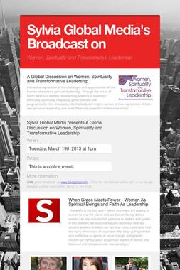 Sylvia Global Media's Broadcast on