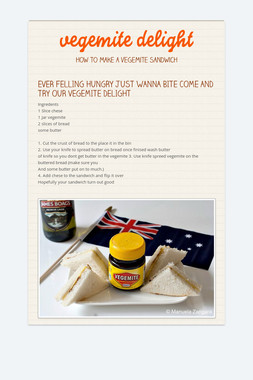 vegemite delight