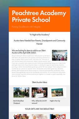 Peachtree Academy Private School