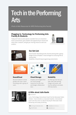 Tech in the Performing Arts