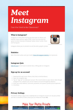 Meet Instagram