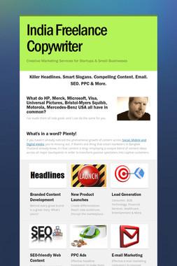 India Freelance Copywriter