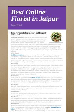 Best Online Florist in Jaipur