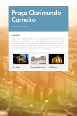 Praça Clarimundo Carneiro