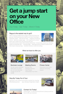 Get a jump start on your New Office
