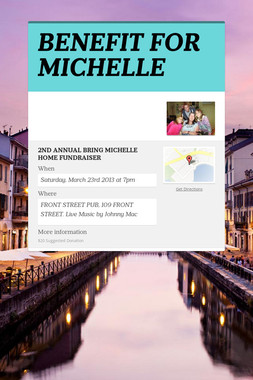 BENEFIT FOR MICHELLE
