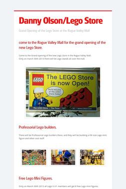 Danny Olson/Lego Store