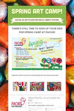 Spring Art Camp!