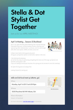 Stella & Dot Stylist Get Together