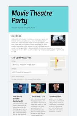 Movie Theatre Party