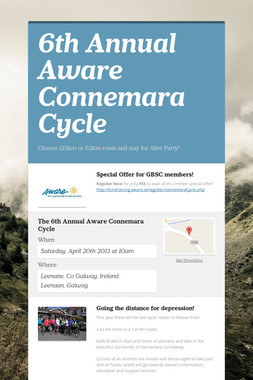6th Annual Aware Connemara Cycle