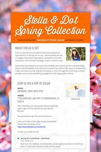 Stella & Dot Spring Collection