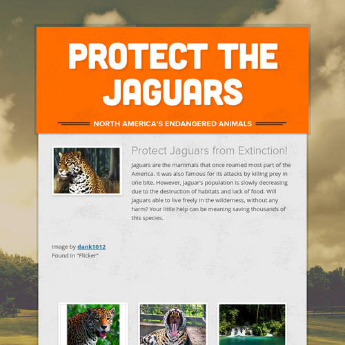 Protect the Jaguars