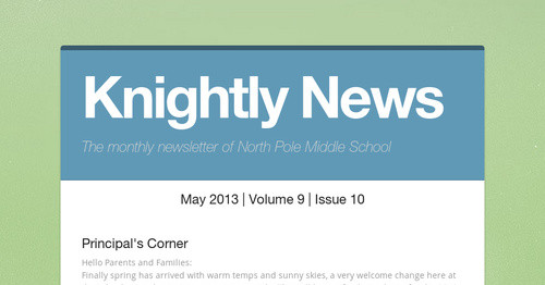 Knightly news smore newsletters fandeluxe Image collections