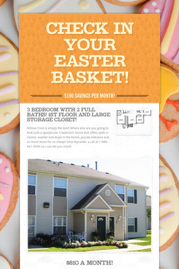 Check In Your Easter Basket!