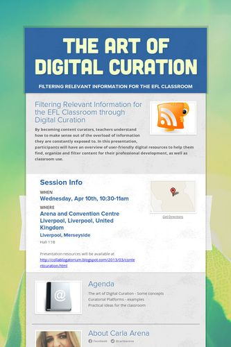 The Art of Digital Curation