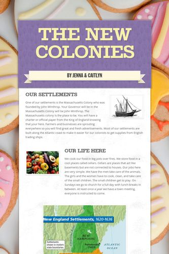 The New Colonies