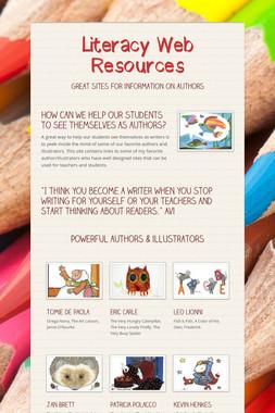 Literacy Web Resources