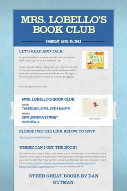 Mrs. Lobello's Book Club