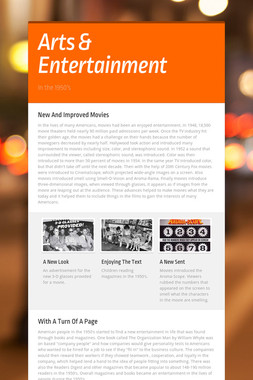 Arts & Entertainment