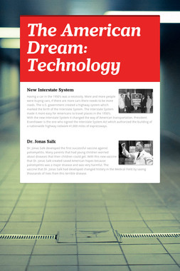 The American Dream: Technology