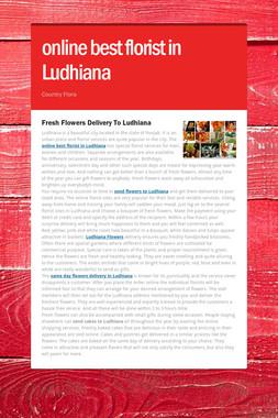 online best florist in Ludhiana