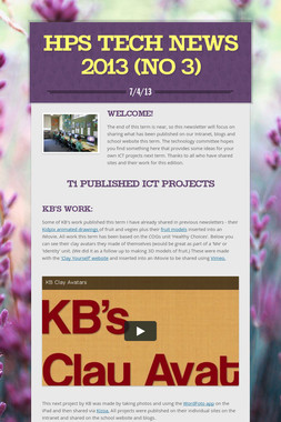 HPS Tech News 2013 (no 3)