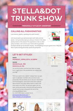 Stella&dot Trunk Show