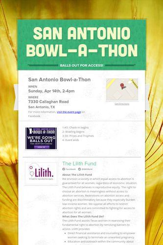 San Antonio Bowl-a-Thon