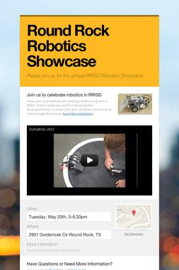 Round Rock Robotics Showcase