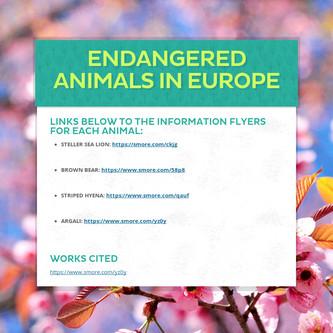 Endangered Animals in Europe