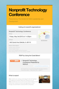Nonprofit Technology Conference