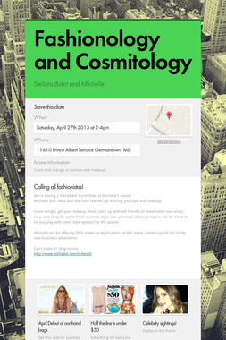 Fashionology and Cosmitology