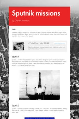 Sputnik missions