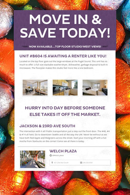 Move in & Save Today!