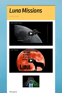 Luna Missions